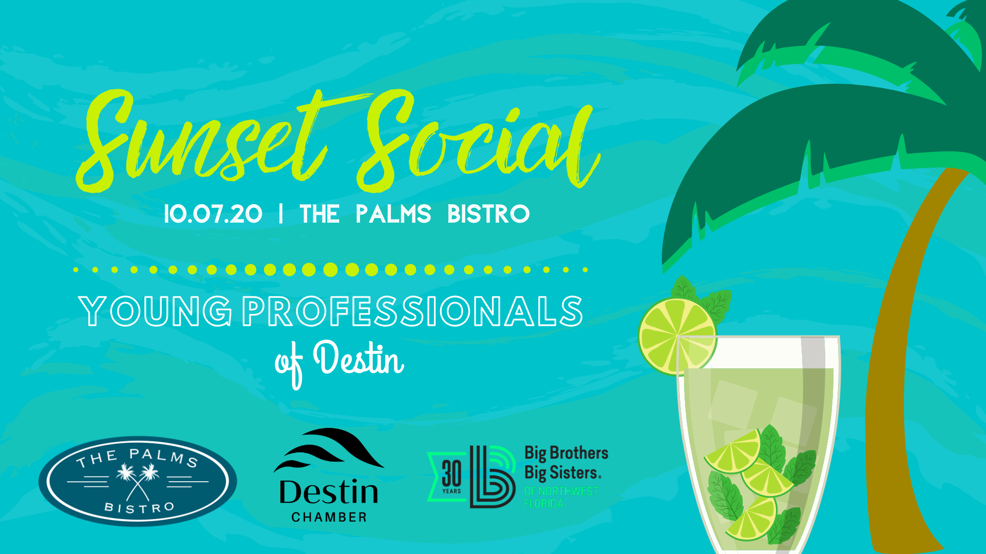 Young Professionals of Destin Sunset Social