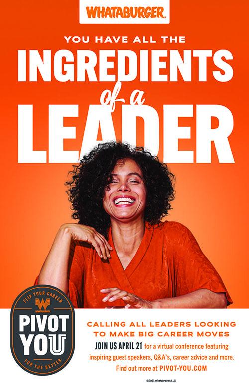 Whataburger Free Leadership Conference Pivot You