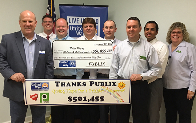 United Way of Okaloosa and Walton Counties - Publix Super Markets