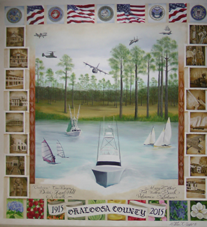 Okaloosa County Art Mural