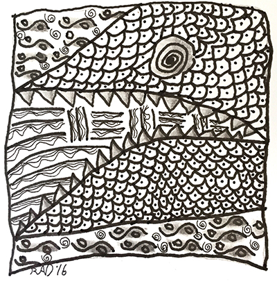Mattie Kelly Arts Foundation - Zentangle