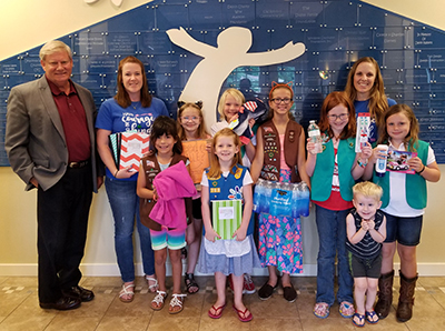 Children In Crisis - Girl Scouts