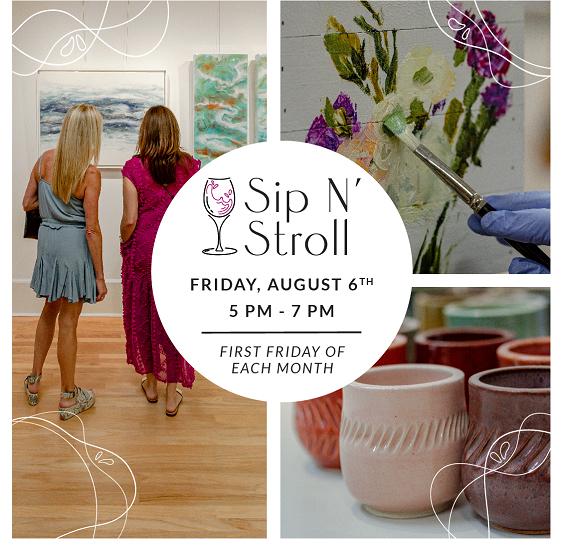 J.Leon Gallery and Studio Sip 'N Stroll