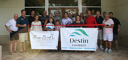 Dare Devil Society Ribbon Cutting