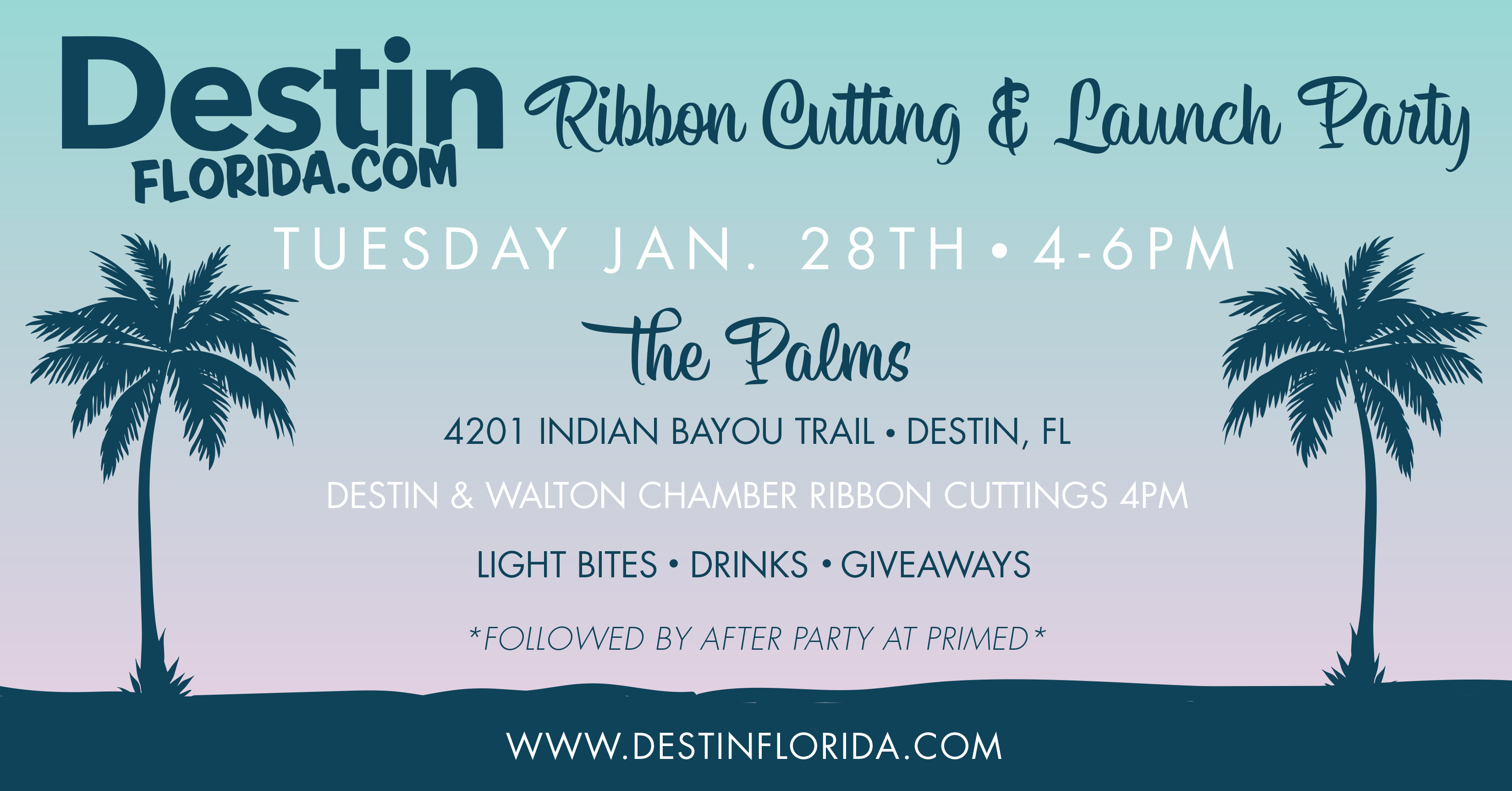 DestinFlorida.com Launch Party