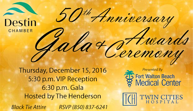 Destin Chamber's 50th Anniversary Celebration