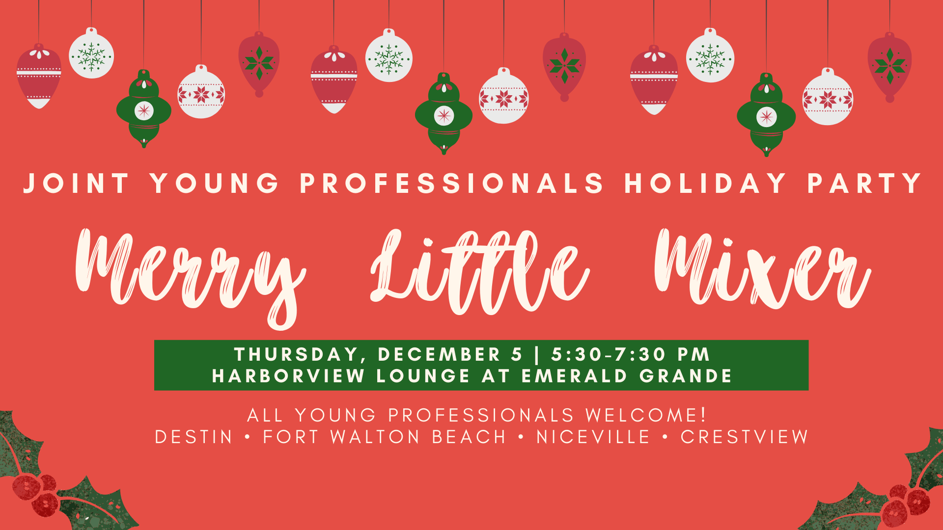 Joint Young Professionals Holiday Party