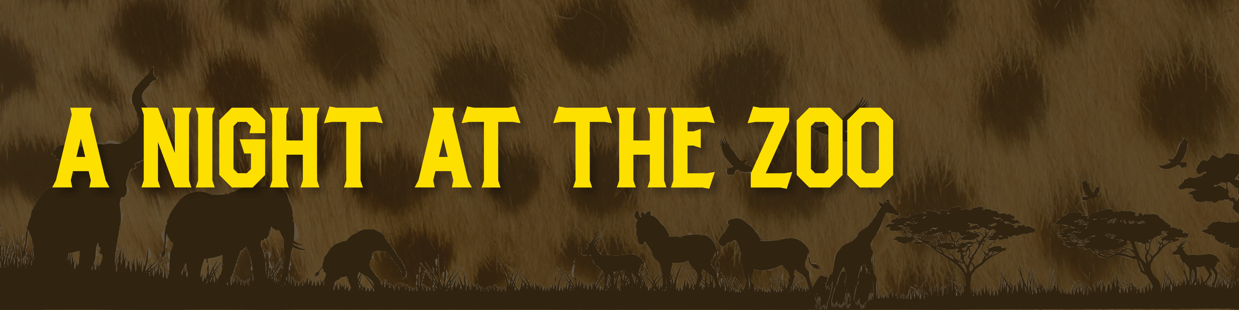 Night at the Zoo Banner