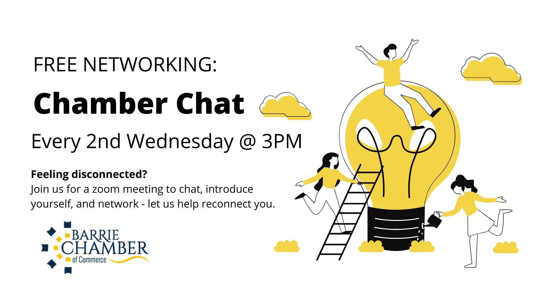Chamber Chat - Every 2nd Wednesday @ 3PM