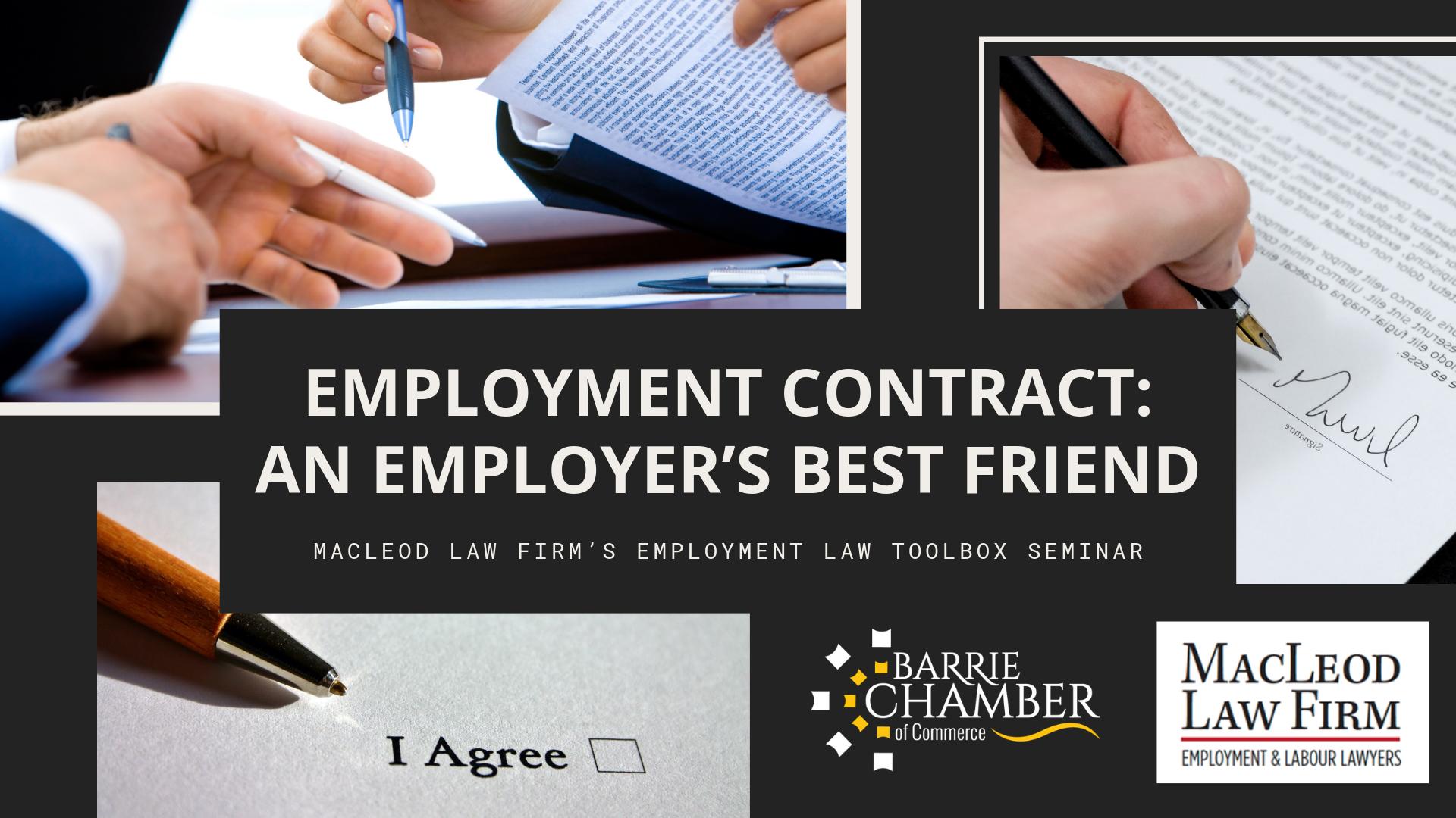 Employment Contract: An Employer's Best Friend