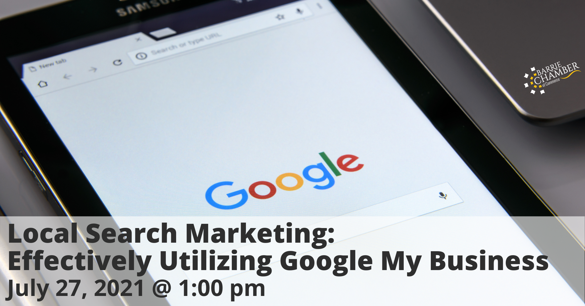 Local Search Marketing: Effectively Utilizing Google My Business - July 27 @ 1:00 pm