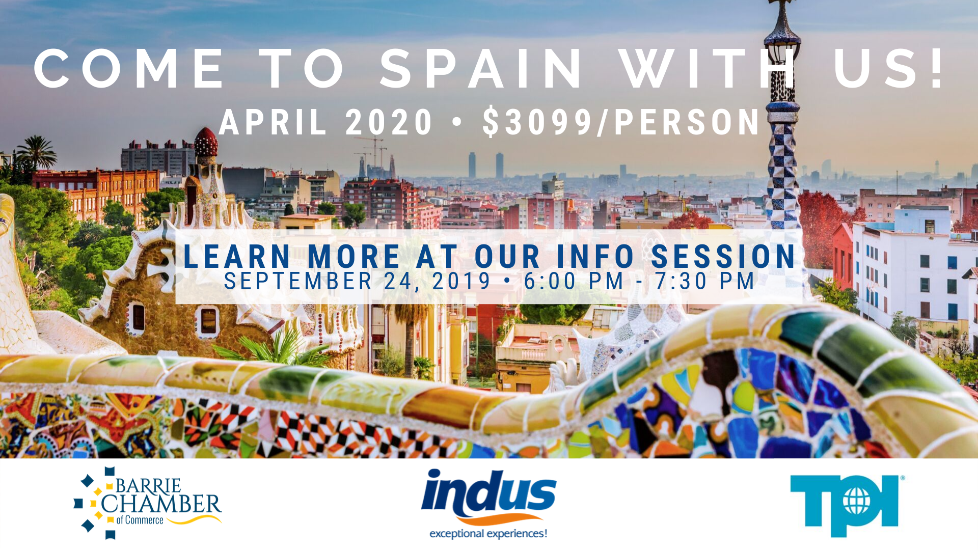 Come to Spain with us!