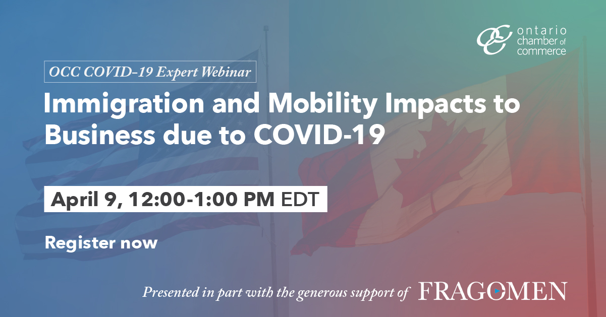 Free Webinar: Immigration & Mobility Impacts to Business due to #COVID19