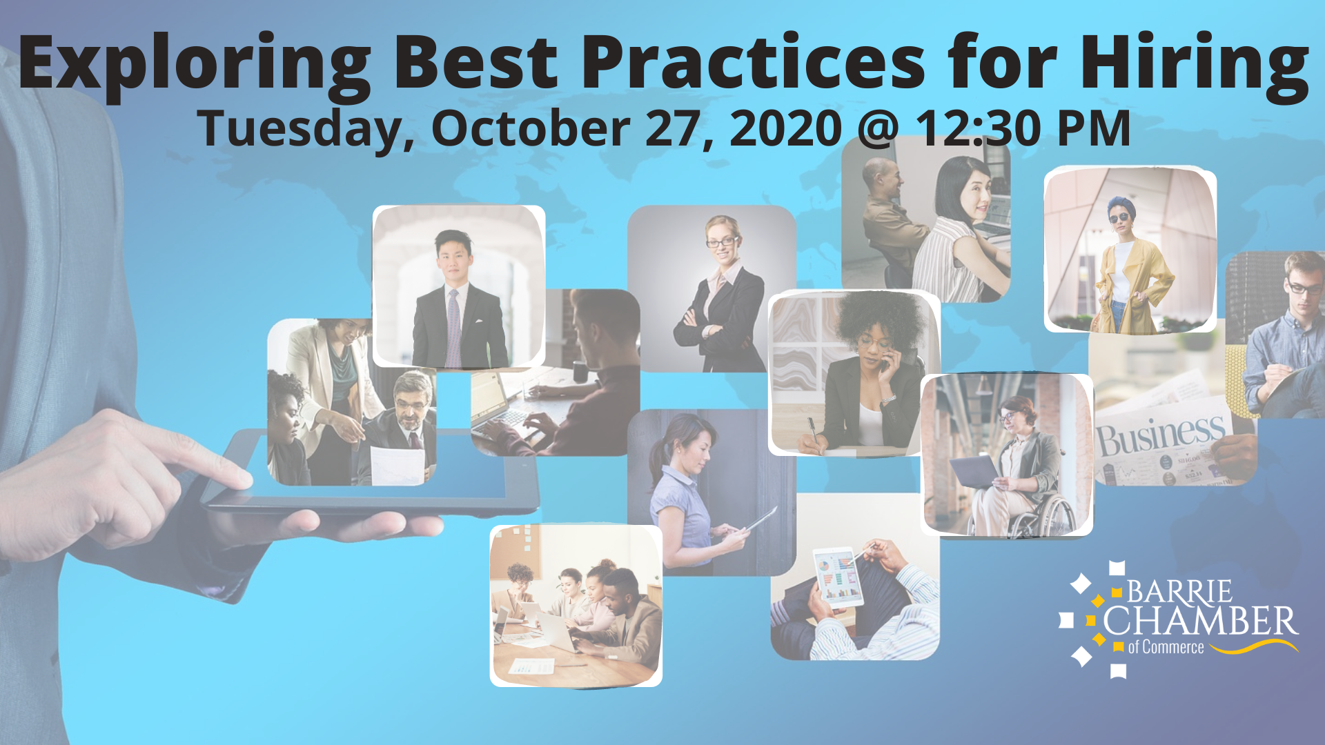 Exploring Best Practices in Hiring -Tuesday, October 27, 2020 - 12:30 pm