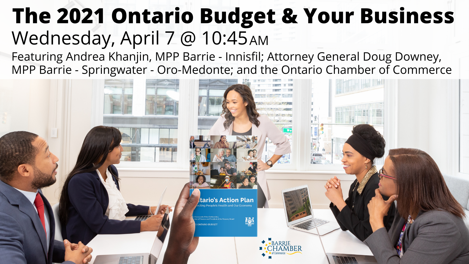 The 2021 Ontario Budget & Your Business - April 7, 2021 @ 10:45 am