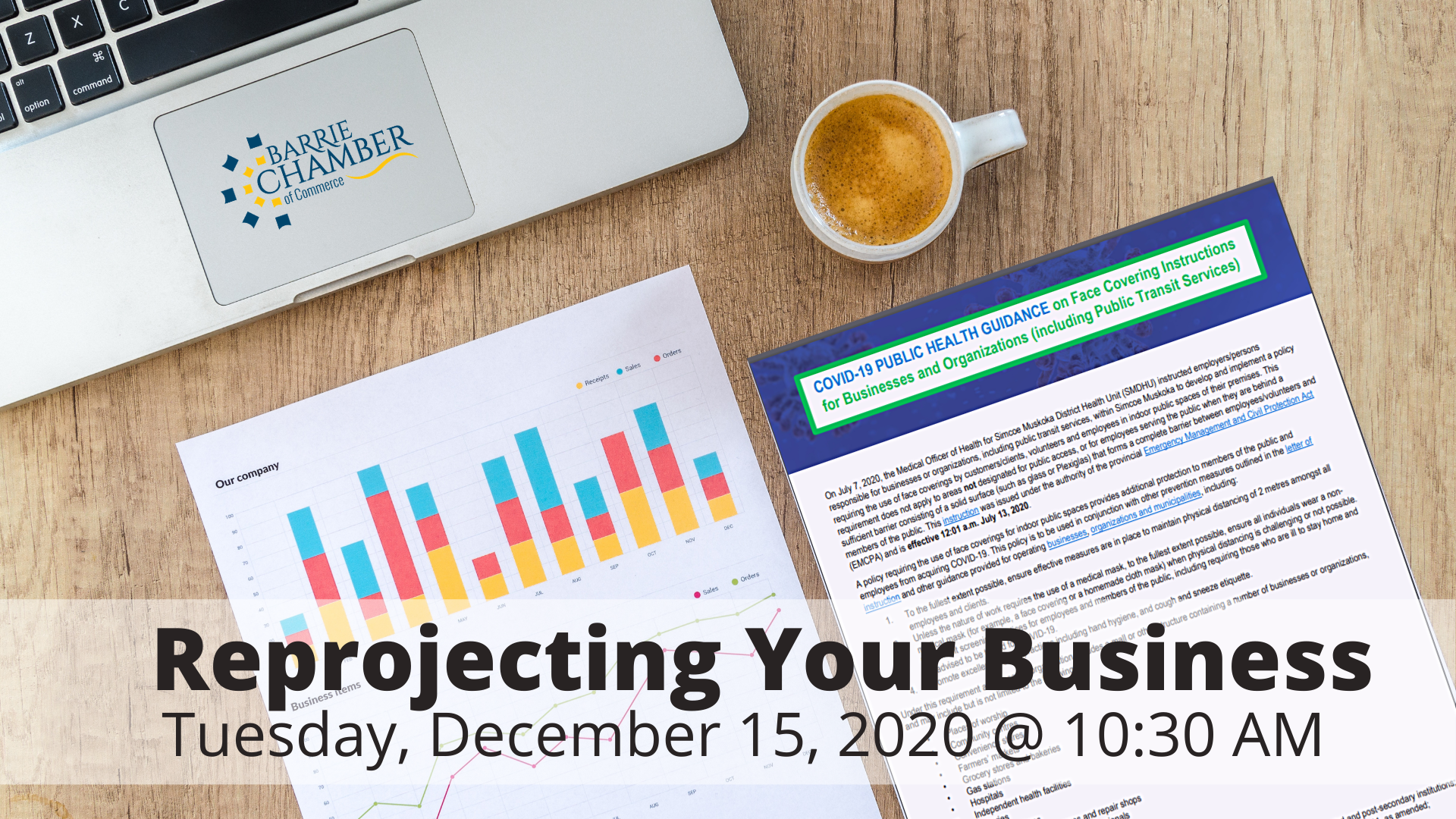 Reprojecting Your Business - December 15, 2020 @ 10:30 am