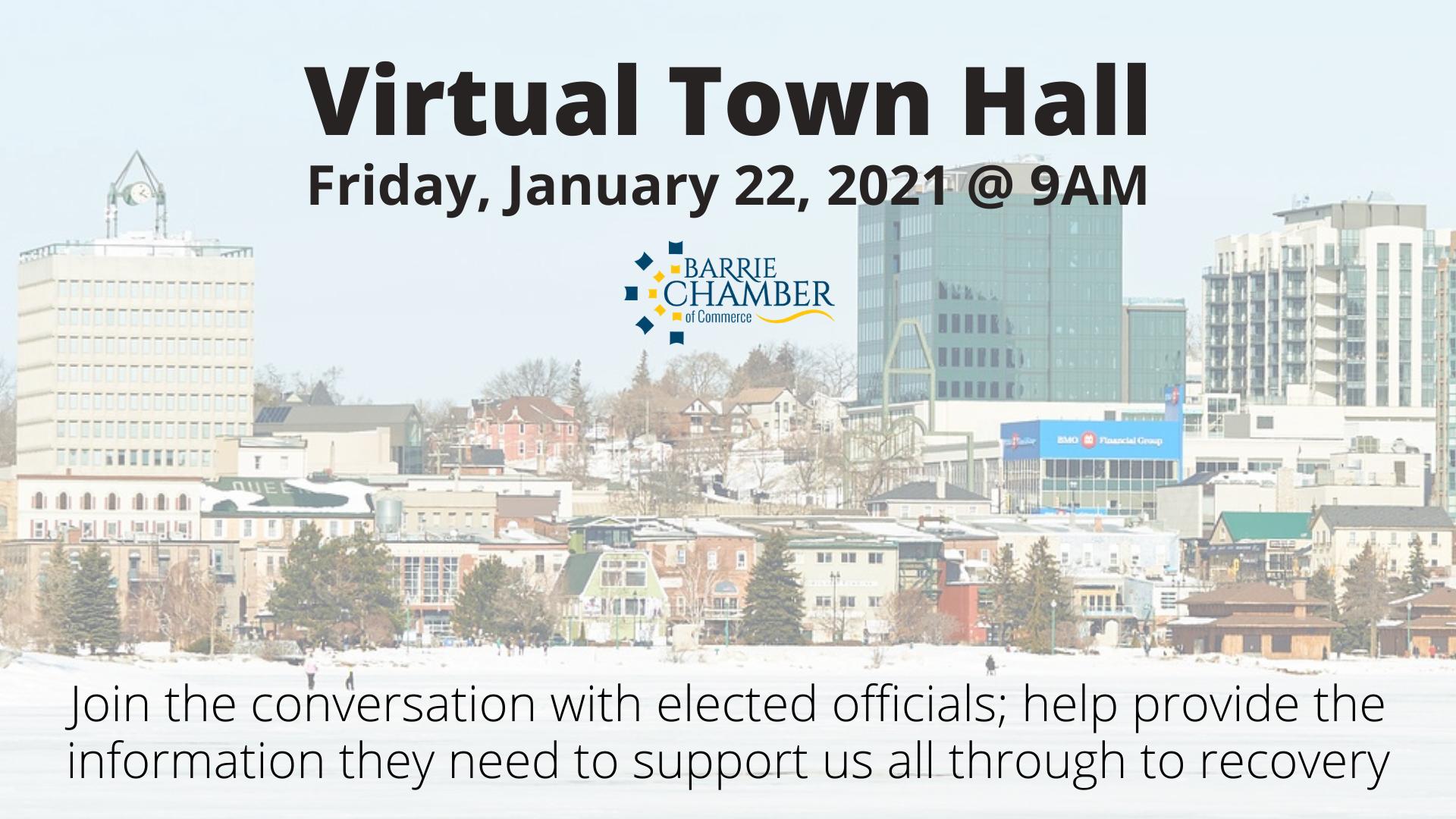 Town Hall - January 22, 2010 @ 9am