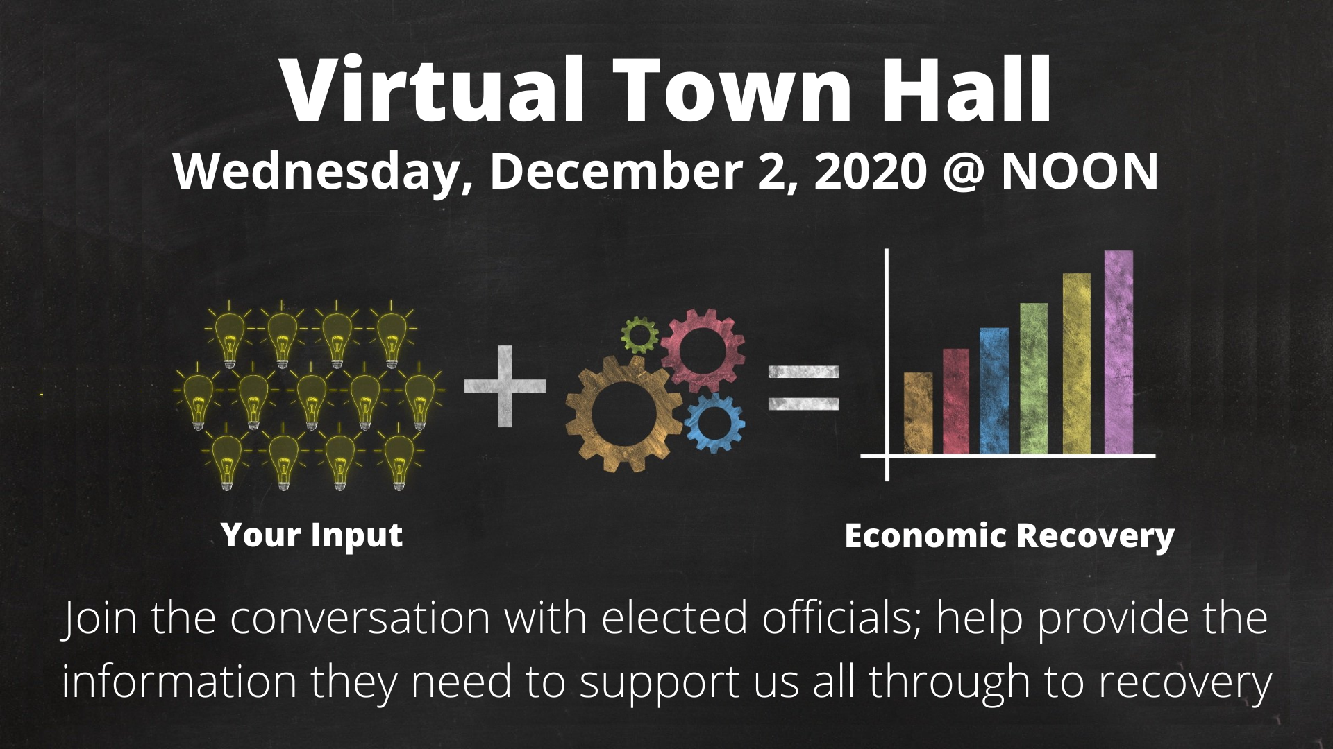 Town Hall - December 2 @ noon