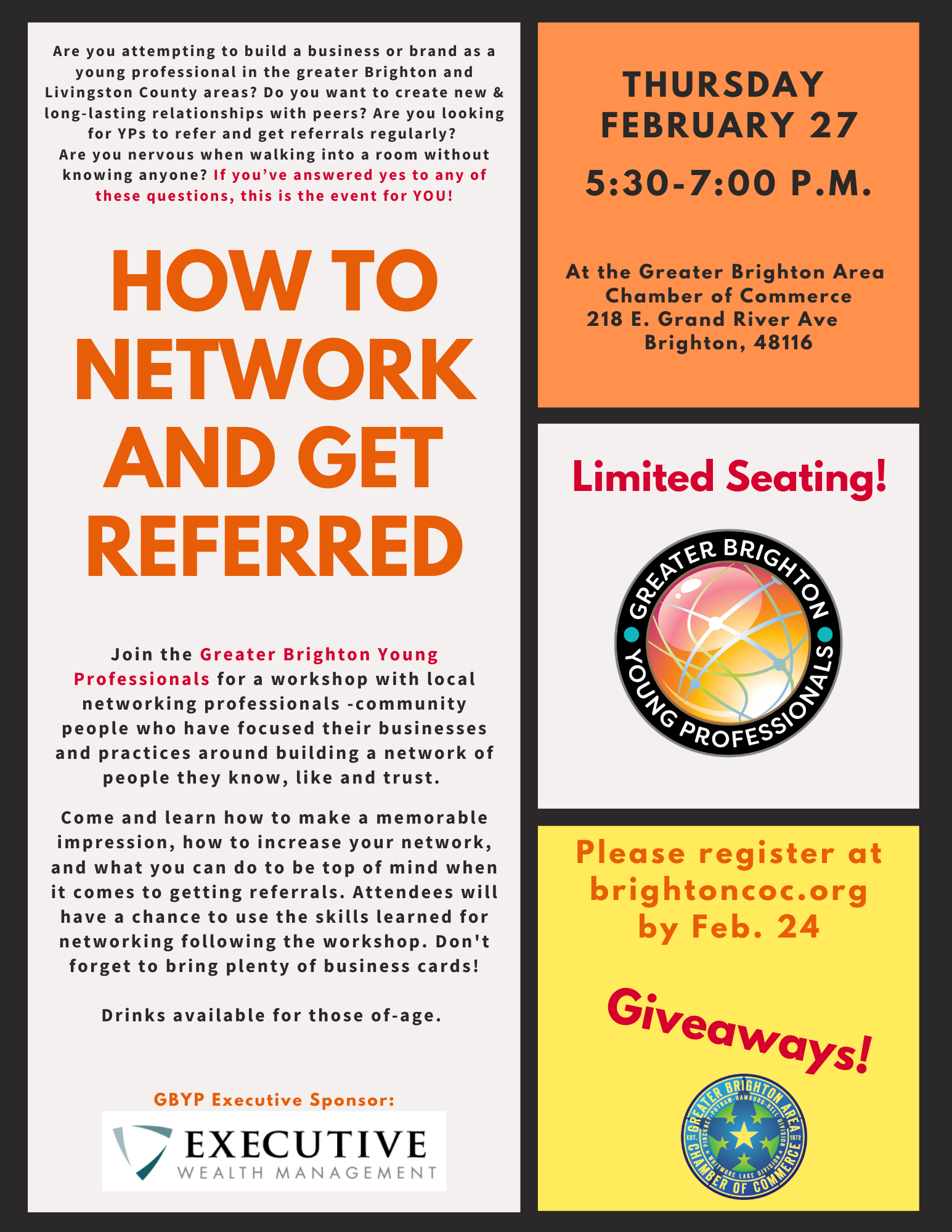 GBYP Networking Feb 27 2020