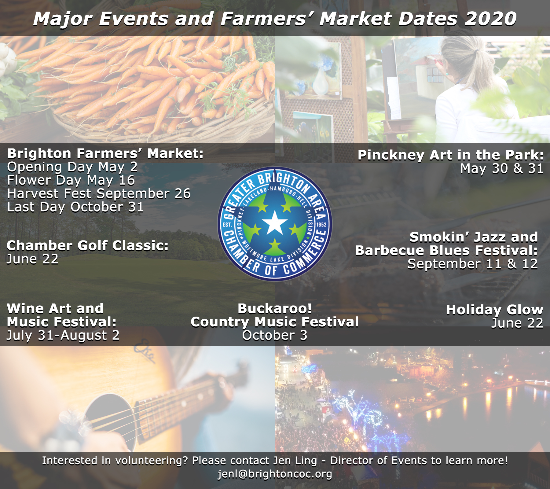 2020 Events Schedule Greater Brighton Area of Commerce