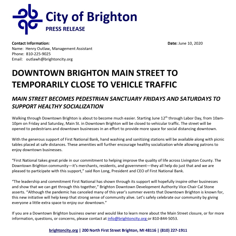 Press-Release---City-of-Brighton-closed-Main-St-for-summer-w800.jpg