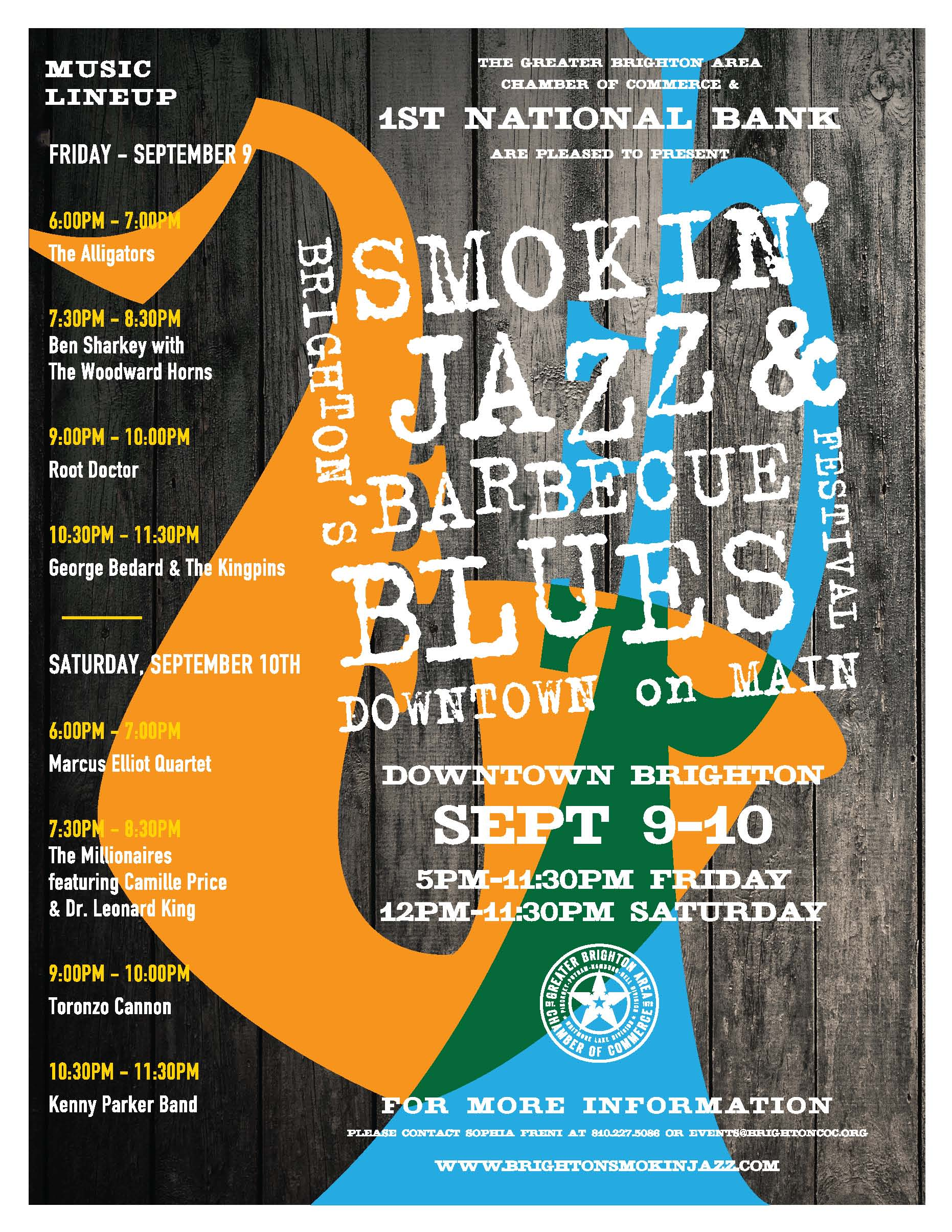 Brighton Smokin Jazz & Barbeque Blues Festival