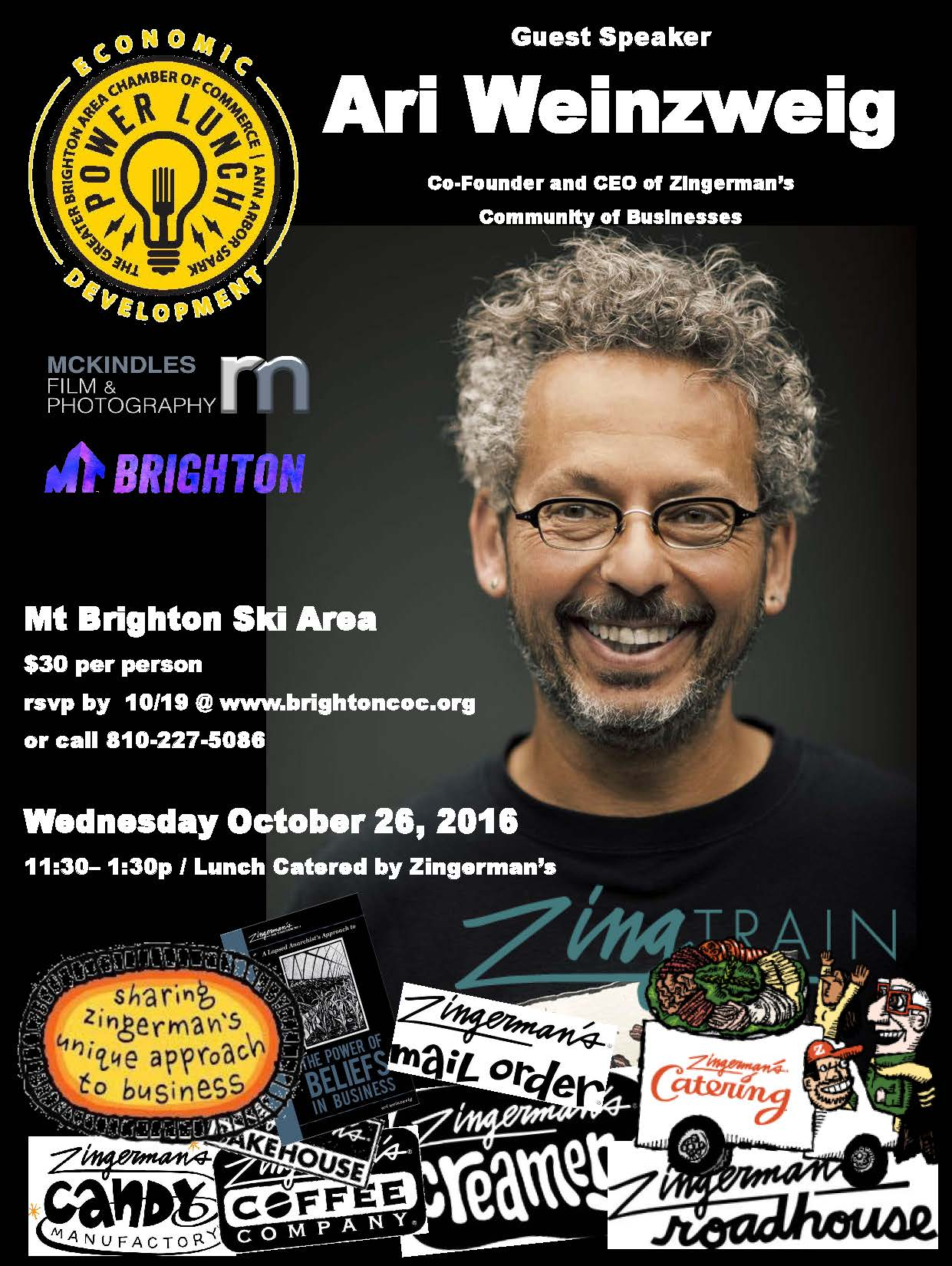 Zingerman Brighton Powerlunch