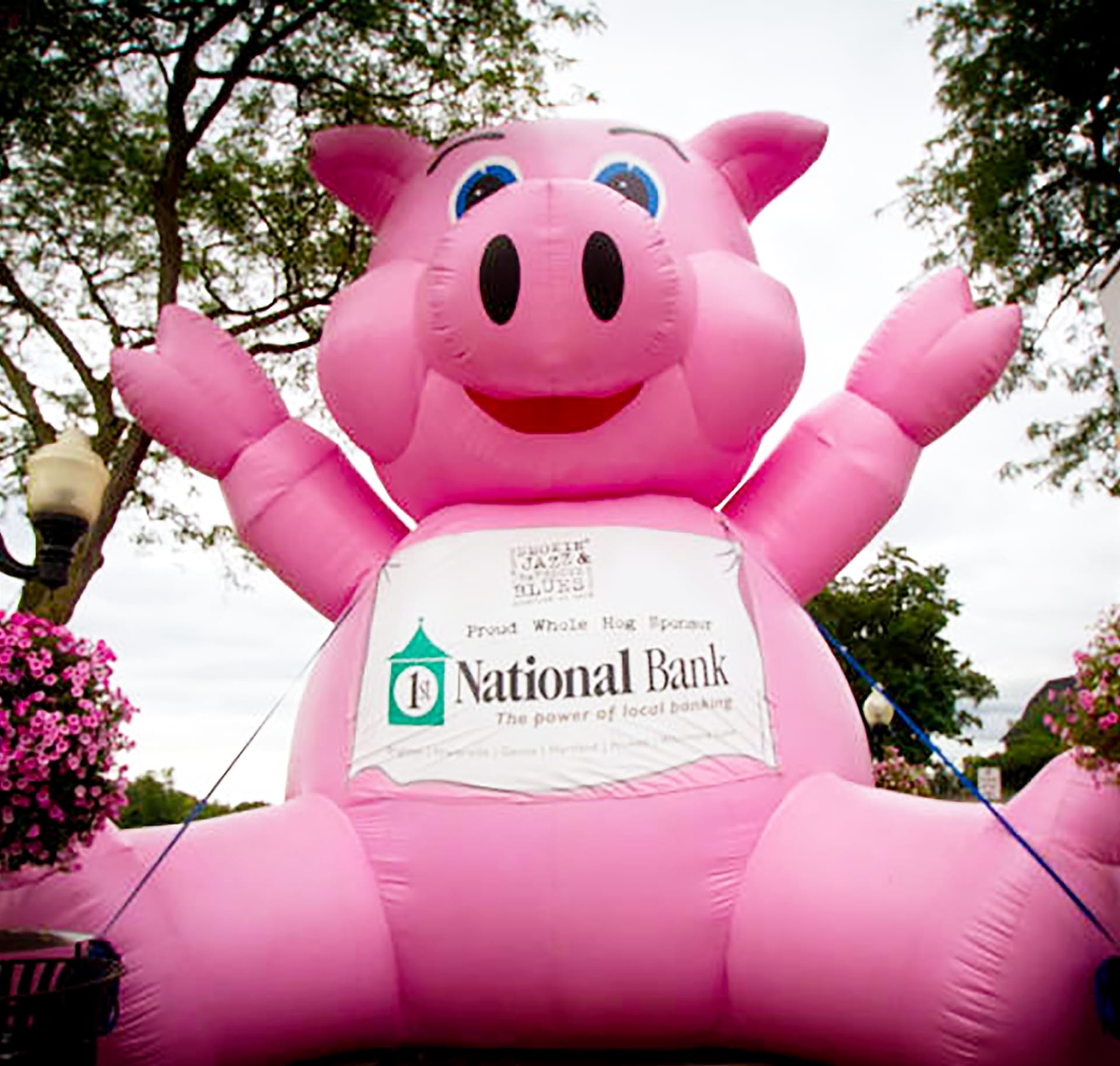 1st National Bank Pig