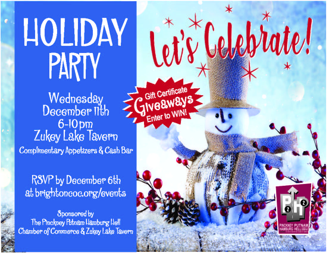 Pinckney Holiday Party Dec 11th 2019