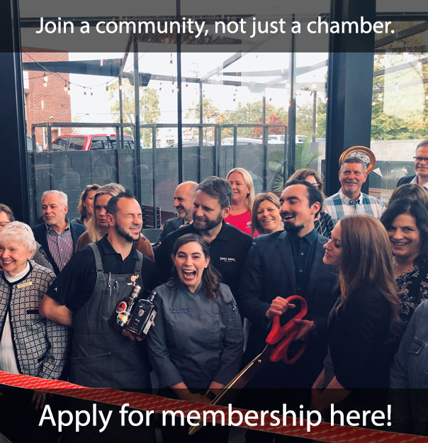 Join a community not just a chamber