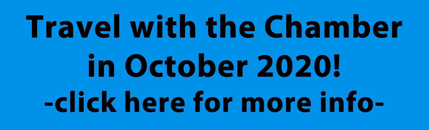 Travel with the GBACoC in October of 2020