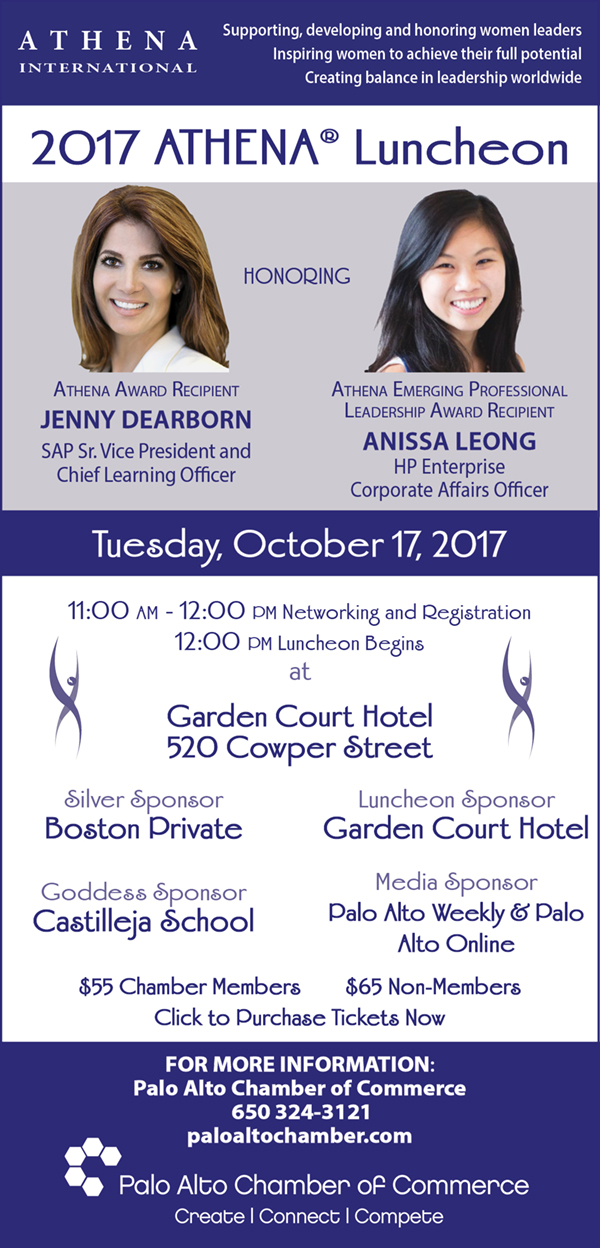 Athena International - supporting, development and honoring women leaders