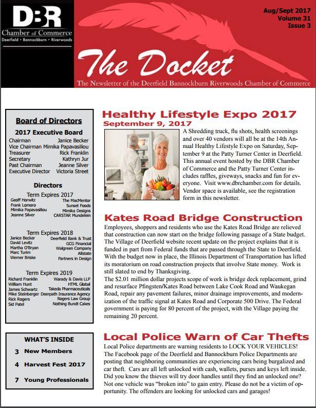 Newsletter October November 2017