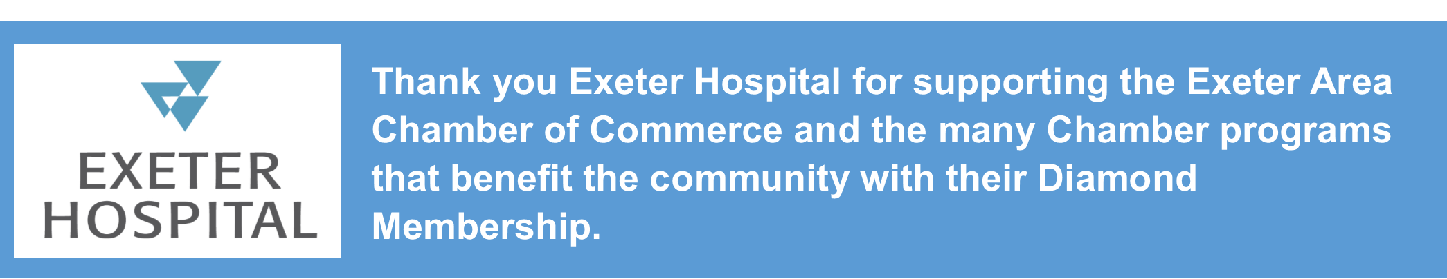 Exeter Hospital Diamond Sponsor