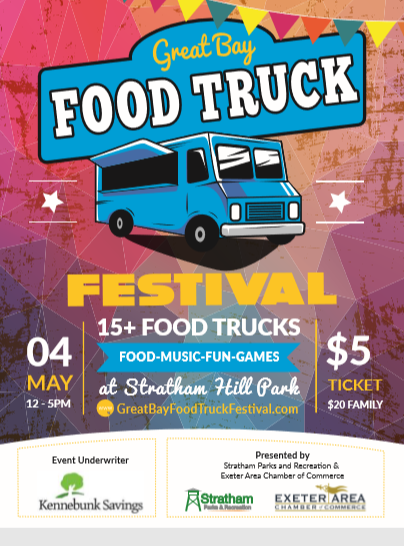 Great Bay Food Truck Festival in Stratham, New Hampshire