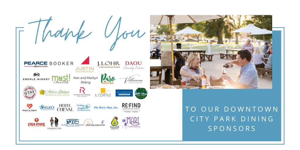 park dining sponsors