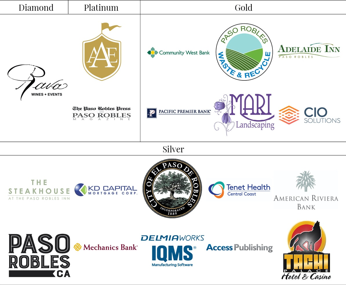 Chairmans Circle Partners Paso Robles Chamber of Commerce and Paso Robles Wine Country