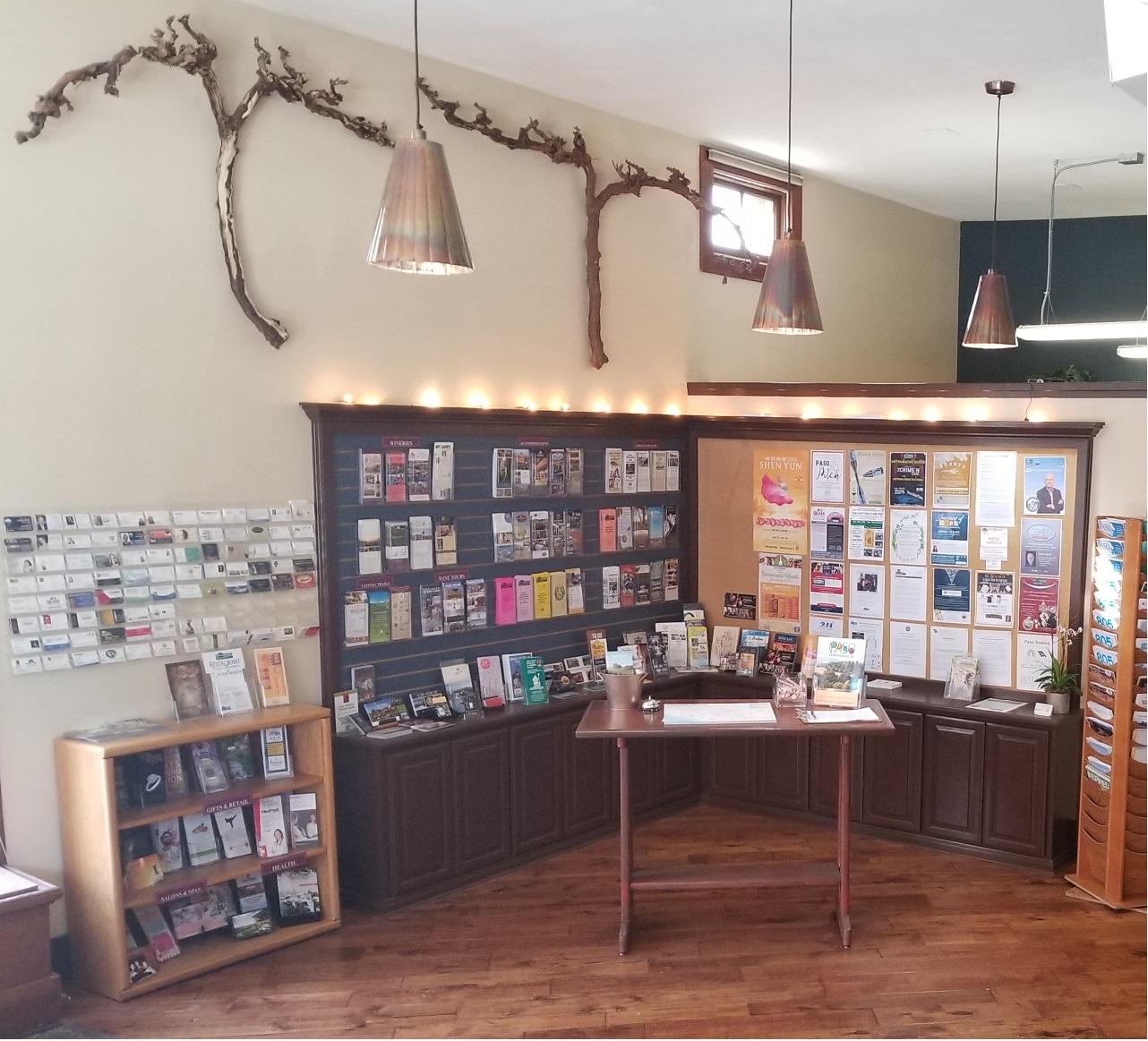 Paso Robles Chamber Visitor Center Interior