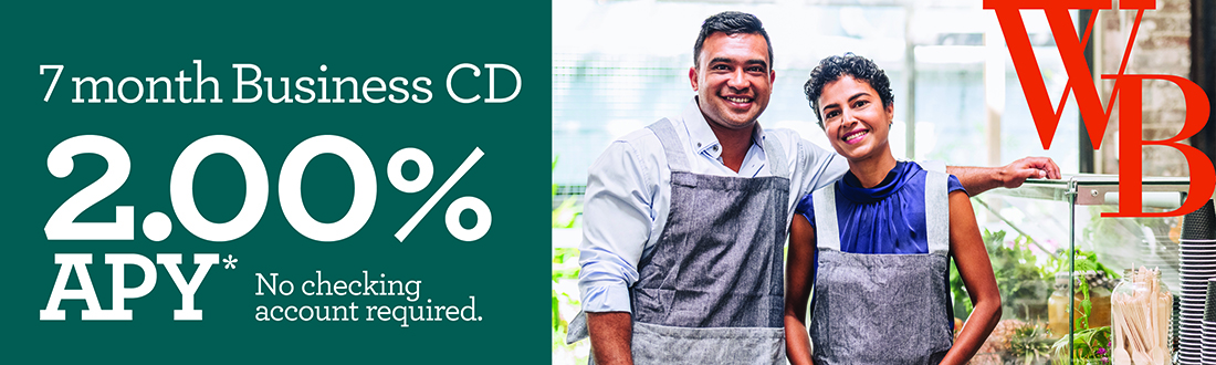 *Annual Percentage Yield (APY) is effective as of 9/5/2018. A penalty may be imposed for early withdrawal. Minimum balance to open a certificate of deposit (CD) is $1,000. Maximum deposit amount is $5,000,000. Minimum balance to obtain APY is $10. Offer can be rescinded at any time.