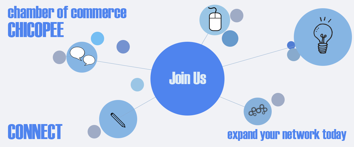 Join the Chicopee Chamber of Commerce today! Network with Chicopee business.