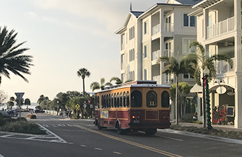 Dunedin Downtown Trolley
