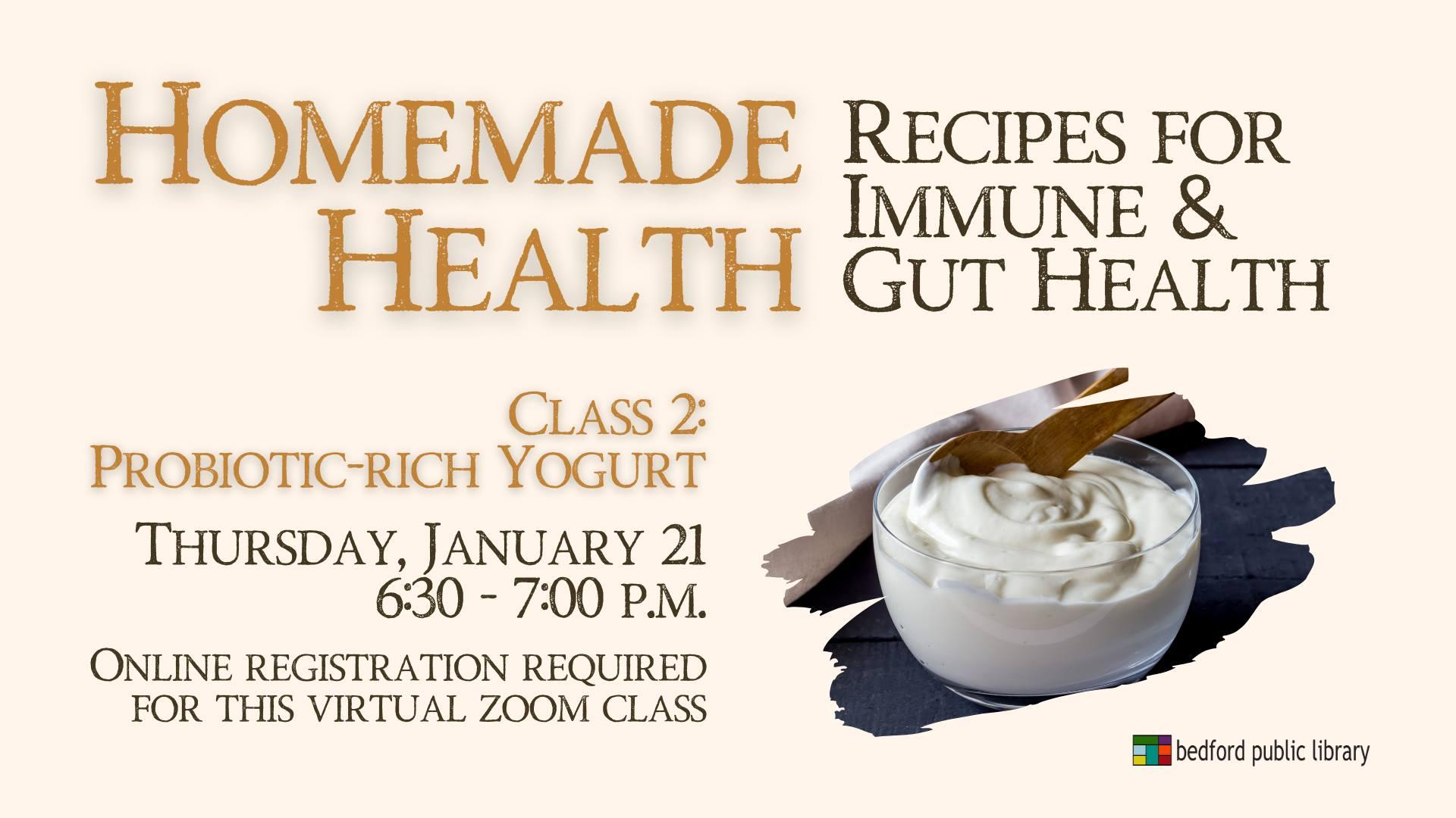 Homemade Health: Yogurt