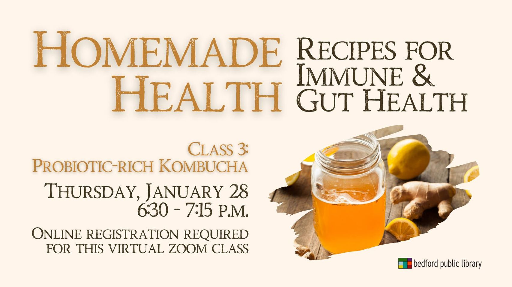 Homemade Health: Recipes for Immune & Gut Health