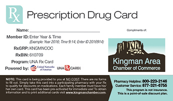 Prescription Card Benefit