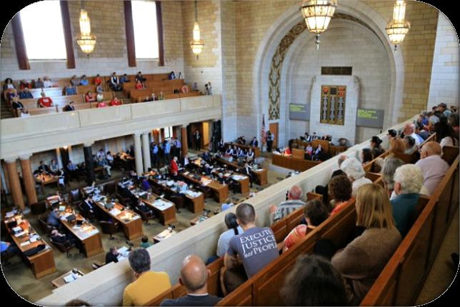 Nebraska State Legislative Chambers