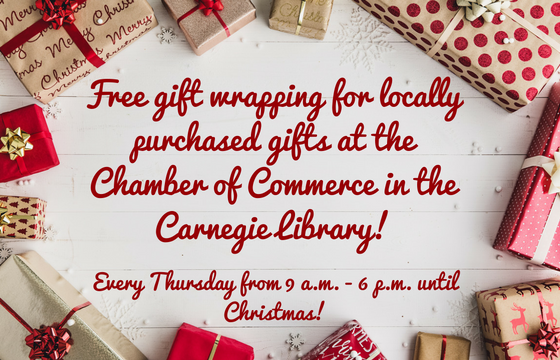 Free-gift-wrapping-for-locally-purchased-gifts-at-the-Chamber-of-Commerce-in-the-Carnegie-Library..png