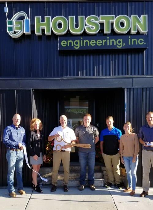 Houston Engineering, Inc Ribbon Cutting