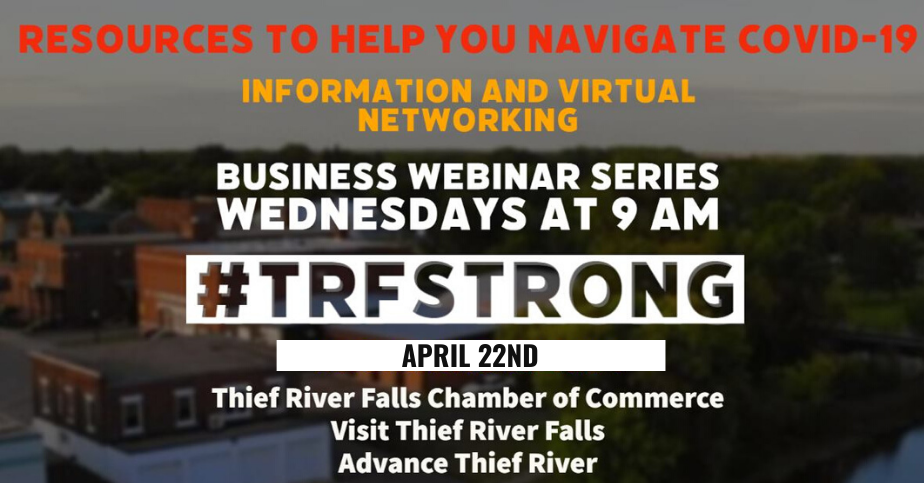 #TRFStrong Business Webinar Series