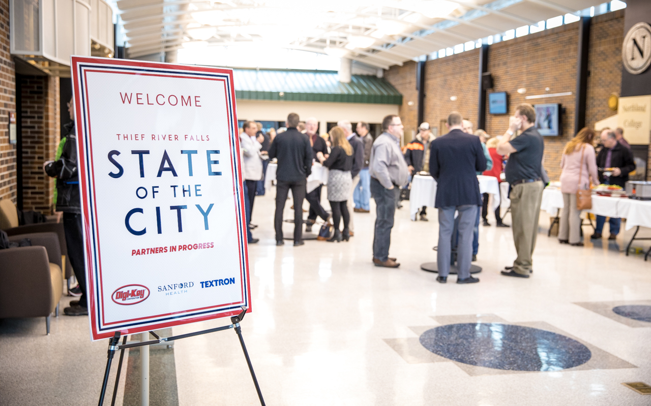 State of the City - Thief River Falls Chamber of Commerce , MN