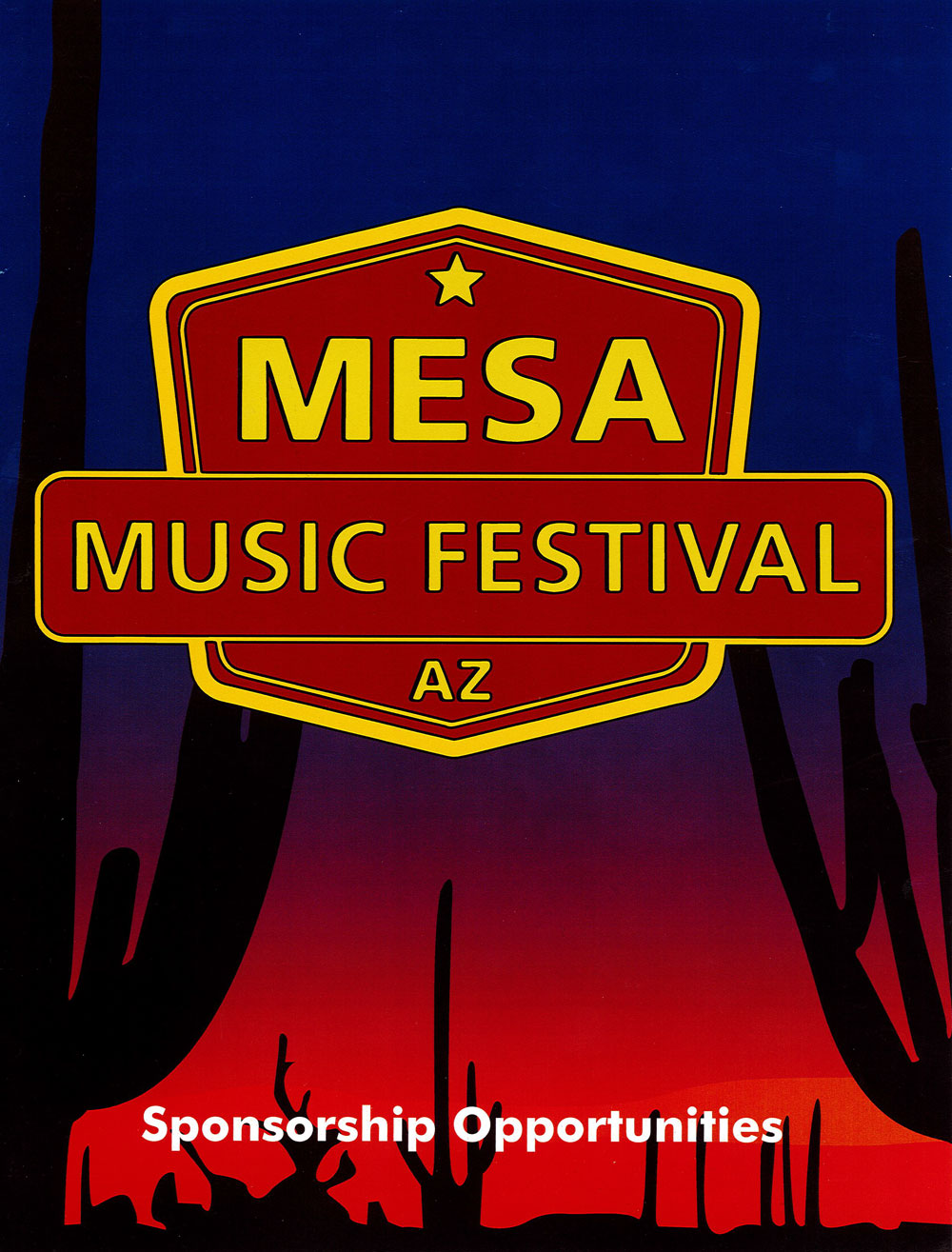 Mesa Music Festival Sponsorship Opportunities